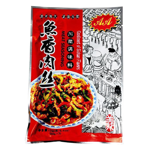 AA Seasoning Mix Spicy Garlic Sauce 5.4oz Front