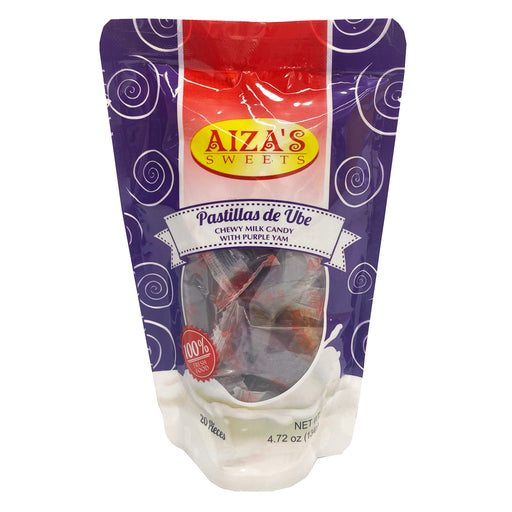 Package Aiza's Pastillas De Ube 4.72oz Front