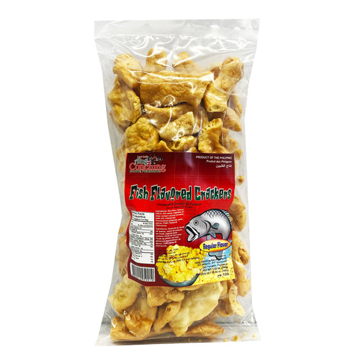Aling Conching Fish Flavored Regular Crackers 3.52oz Front