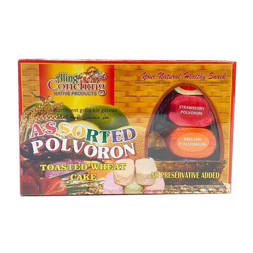 Aling Conching Polvoron - Assorted 17.6oz Front