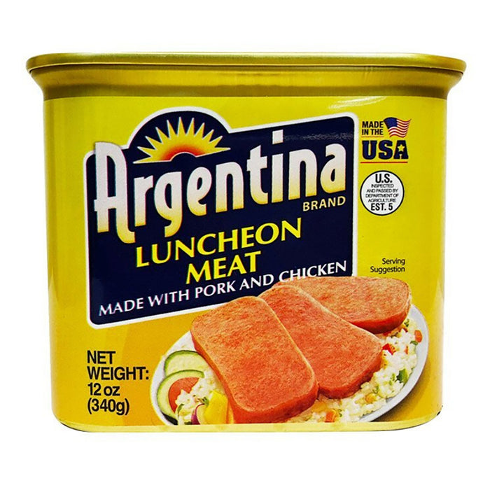 Argentina Luncheon Meat - Pork & Chicken 12oz front