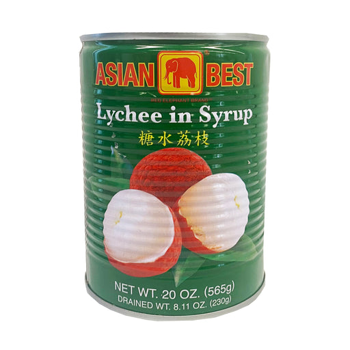 Asian Best Lychee in Syrup 20oz Front