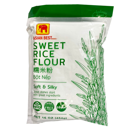 Asian Best Sweet Rice Flour 16oz Front