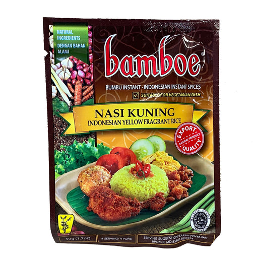 Package Bamboe Indonesian Mix - Nasi Kuning 1.7oz Front