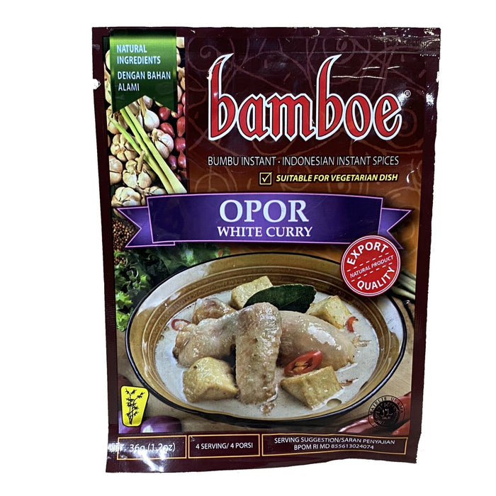 Bamboe Indonesian Mix - Opor White Curry 1.2oz