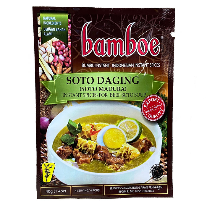 Bamboe Indonesian Mix - Soto Daging 1.4oz Image 1