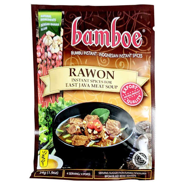 Bamboe Indonesian Mix - Rawon 1.9oz Front
