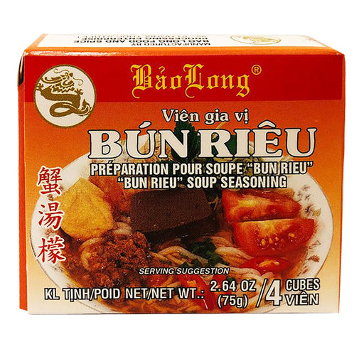 Package Bao Long Bun Rieu Soup Seasoning 2.64oz Front