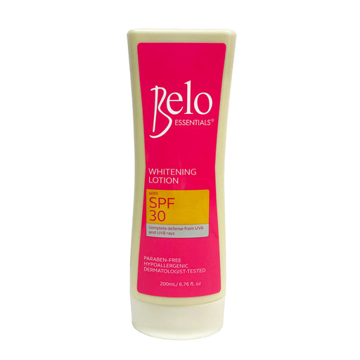Belo Whitening Lotion with SPF 30 (Pink) 6.76oz Front