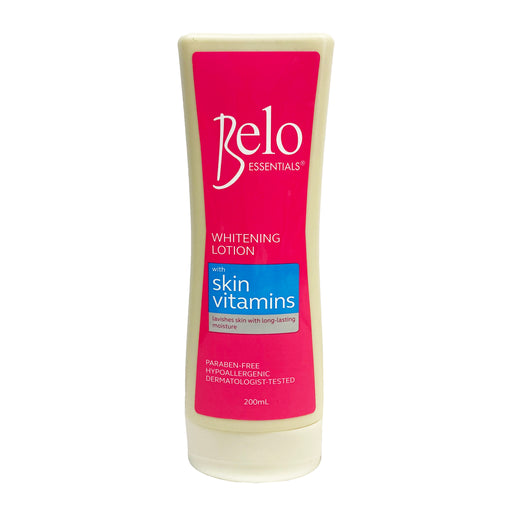 Belo Whitening Lotion with Skin Vitamins (Blue) 6.76oz Front