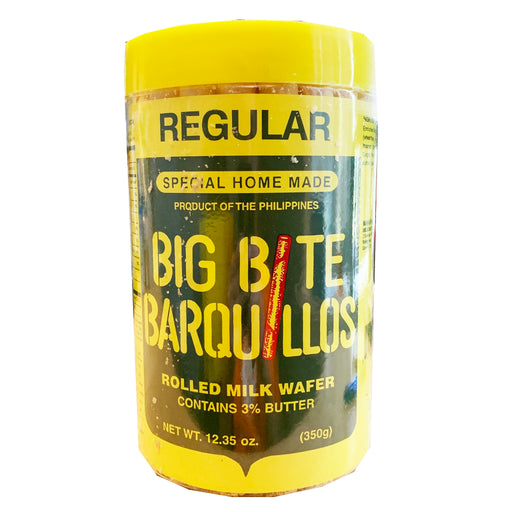 Big Bite Barquillos 12.35oz Front