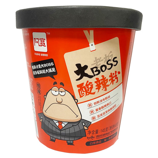 Big Boss Hot And Sour Instant Vermicelli 5.11oz Front