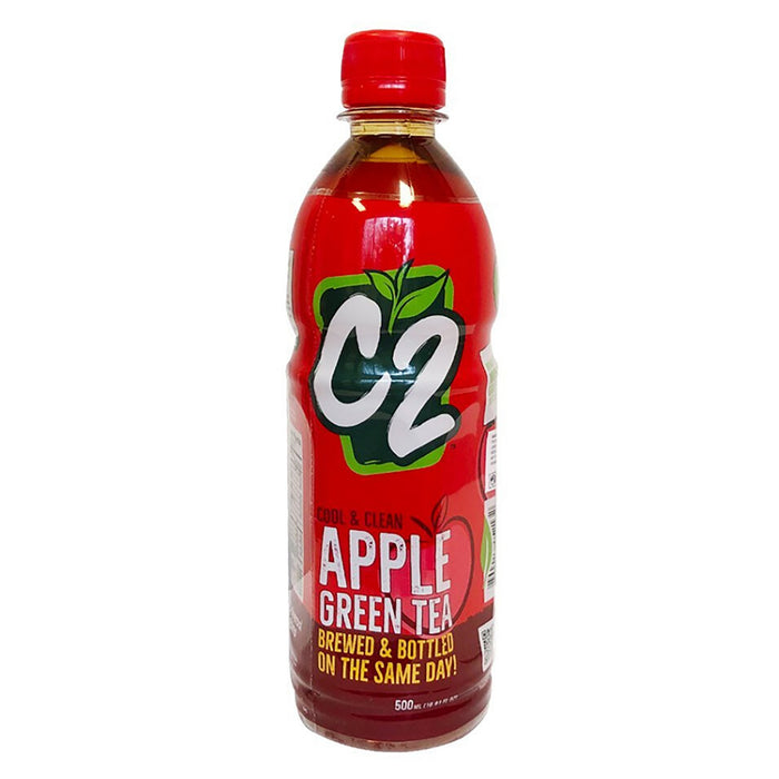 C2 Green Tea - Apple 16.9oz Image 1