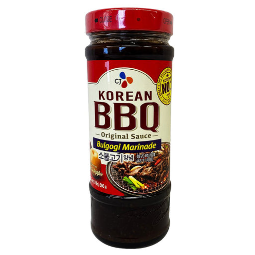 CJ Korean Bbq Sauce - Bulgogi 17.6oz Front