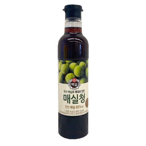 Package CJ Japanese Apricot Syrup 36.18oz Front