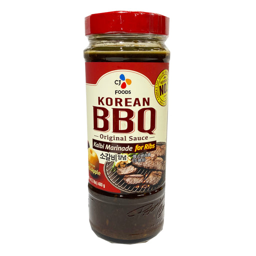 CJ Korean Bbq Sauce - Kalbi 16.9oz Front