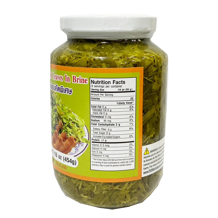 Cathy Young Tamarind Leaves In Brine 16oz Back