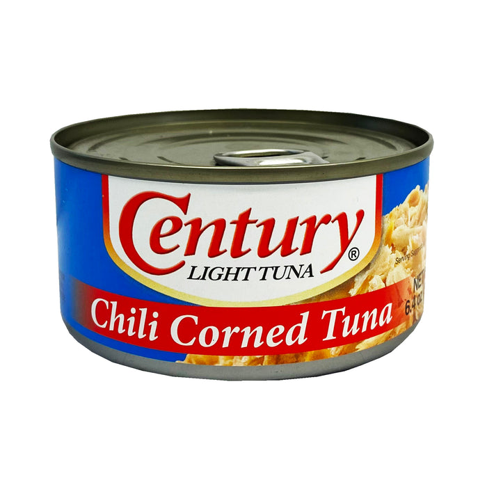 Century Light Tuna - Chili Corned Tuna 6.4oz front