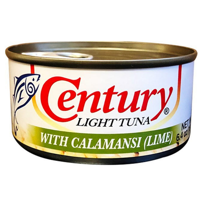 Century Tuna With Calamansi (Lime) Style 6.35oz Front