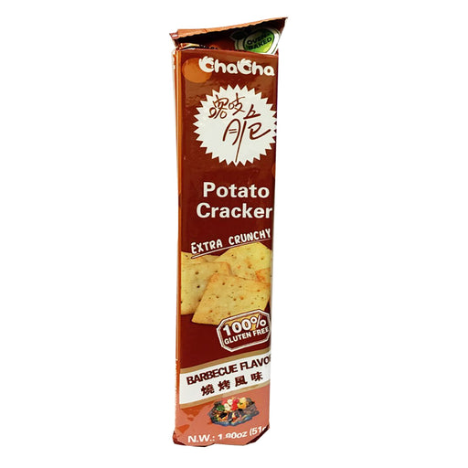 ChaCha Potato Cracker - BBQ Flavor 1.8oz Image 1
