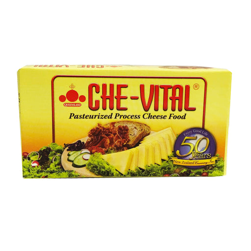 Che-Vital Pasteurized Process Cheese 7oz Front