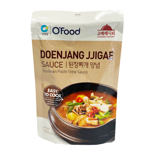 Chung Jung One Doenjang Jjigae Sauce - Soybean Paste Stew Sauce 4.59oz Front