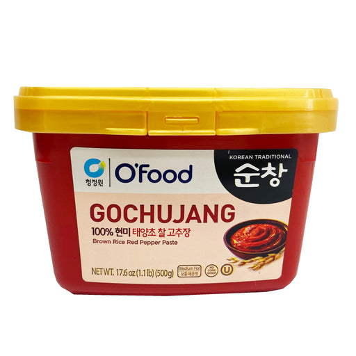 Chung Jung One Gochujang Brown Rice Red Pepper Paste 17.6oz Front