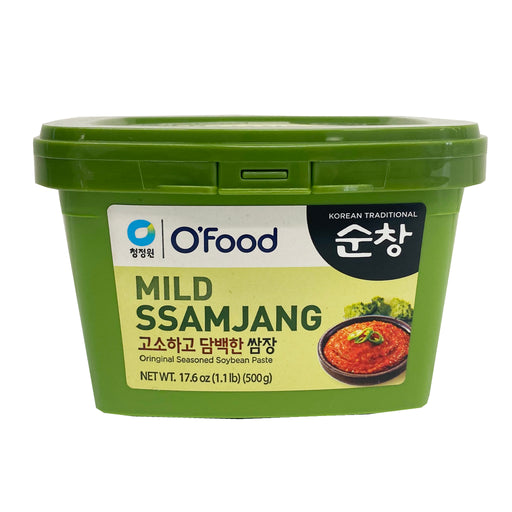 Chung Jung One Mild Ssamjang Seasoned Soybean Paste 17.6oz Front