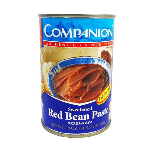 Companion Sweetened Red Bean Paste 18oz Front