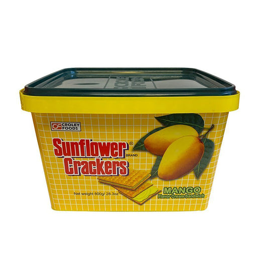 Croley Foods Sunflower Crackers - Mango Flavor 28.2oz Front