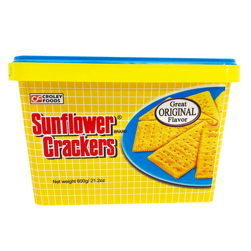 Package Croley Foods Sunflower Crackers - Original Flavor 28.2oz Front