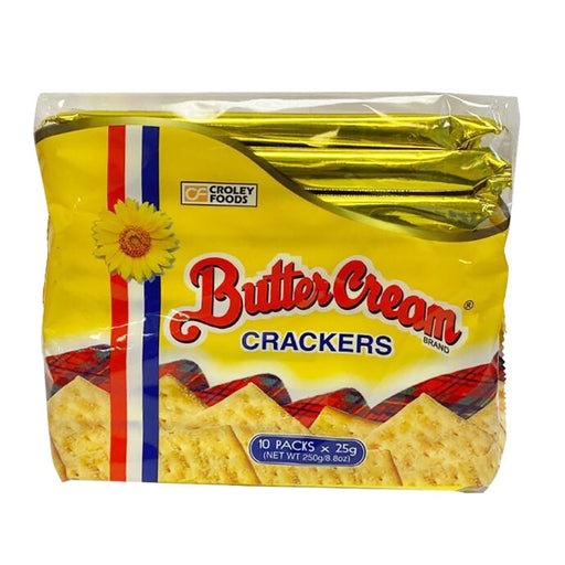 Package Croley Foods Sunflower Crackers Butter Cream - Regular 8.8oz Front