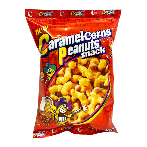 Package Crown Caramel Corns Peanuts Snack 2.54oz Front