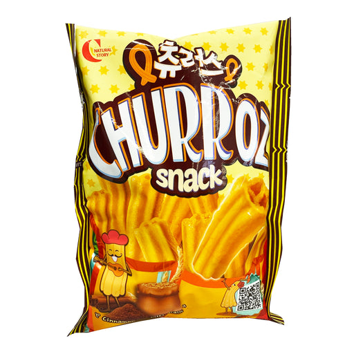 Crown Churroz Snack 6.13oz Front