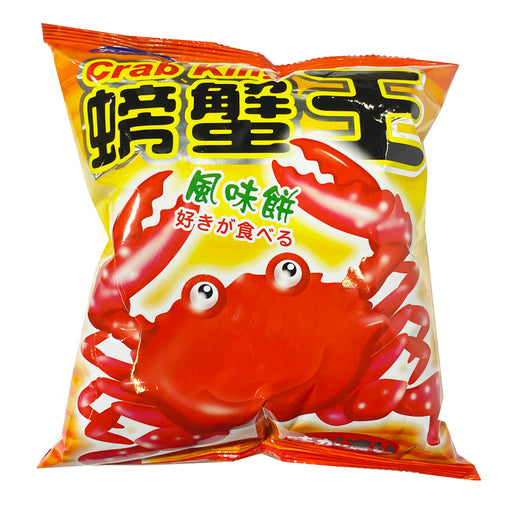 Package Da Tong Crab King Cracker 2.12oz Front