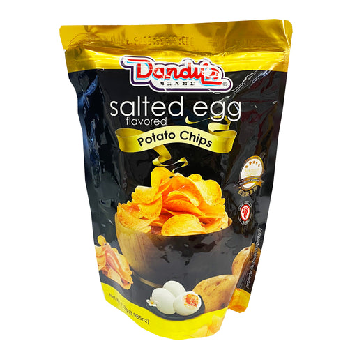 Dandy's Salted Egg Potato Chips 3.98oz Front