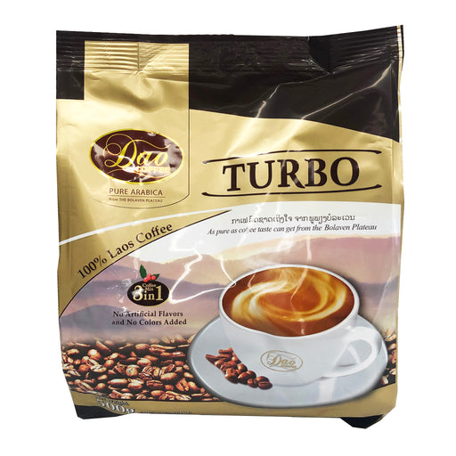 Dao Instant Coffee 3 In 1 - Turbo 17.6oz Front