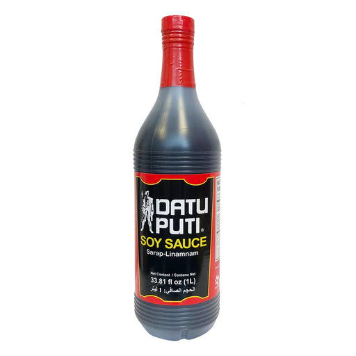 Package Datu Puti Soy Sauce 33.8oz Front