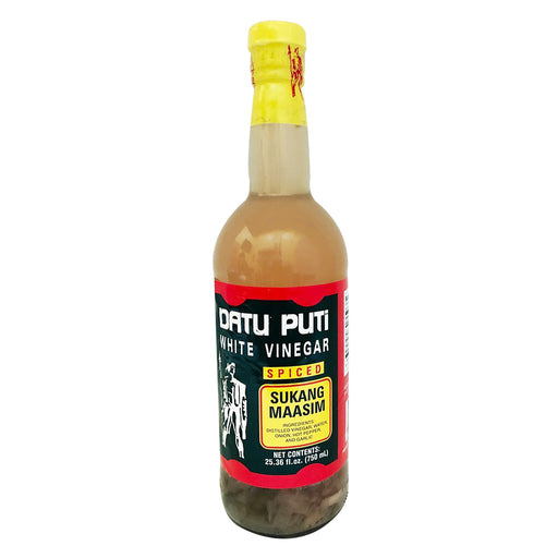 Datu Puti White Vinegar Spiced 25oz Front