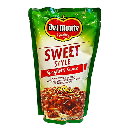 Del Monte Spaghetti Sauce - Sweet Style 35.2oz Front