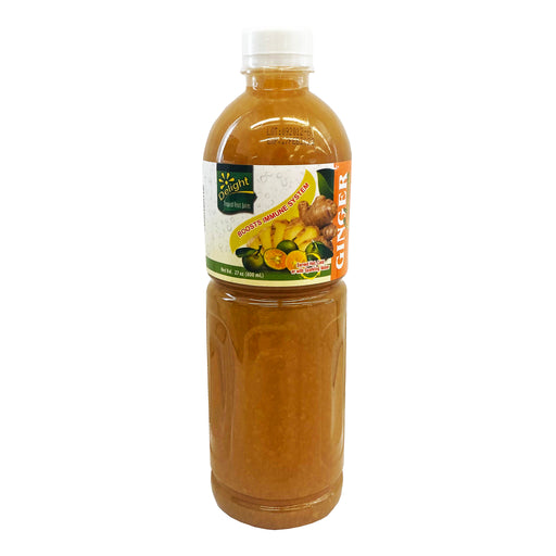 Delight Ginger Calamansi Concentrate 27oz Front