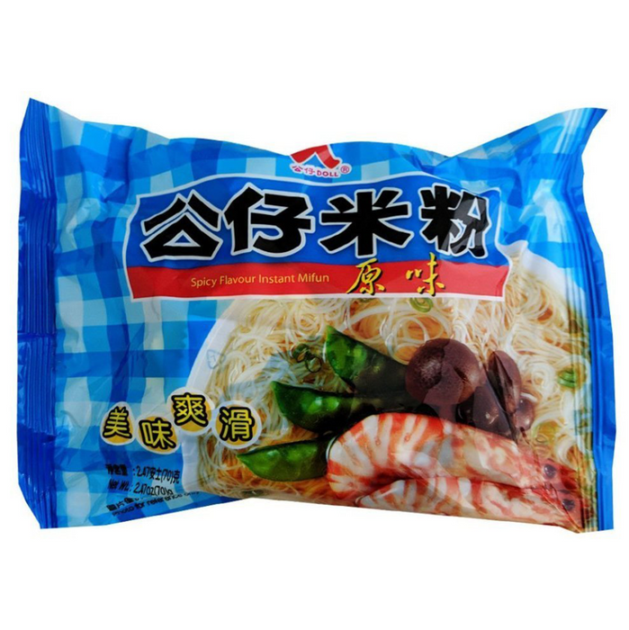 Doll Instant Rice Noodles - Original Flavor 2.47oz Front