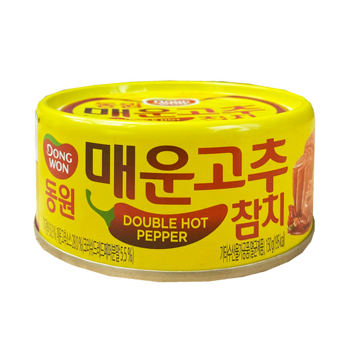 Dong Won Tuna Double Hot Pepper 5.29oz Front