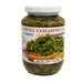 Package Double Horses Young Tamarind Leaves In Brine 16oz Front