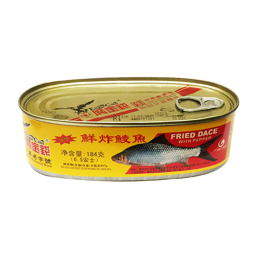 Eagle Coin Fried Dace with Pepper 6.5oz Front