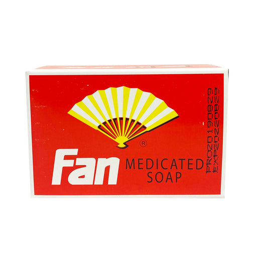 Package Fan Medicated Soap 3.5oz Front
