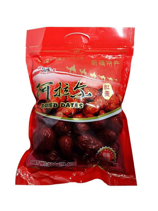 Farmer Brand Dried Red Dates 17.6oz Image 1