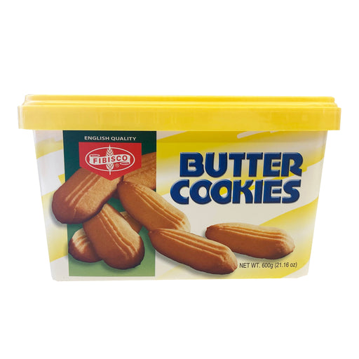 Fibisco Butter Cookies Can 21.16oz Front