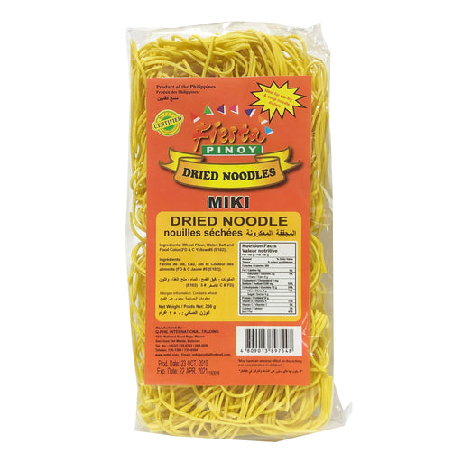 Fiesta Pinoy Dried Noodles Miki 8.8oz Image 1