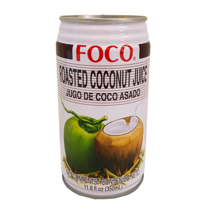 Package Foco Roasted Coconut Juice 11.8oz Front